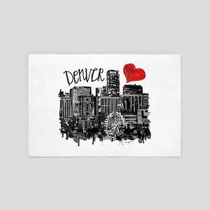 I love Denver 4' x 6' Rug