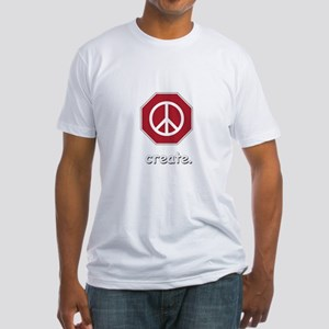 stop to create Fitted T-Shirt