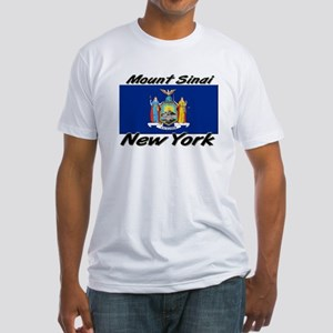 Mount Sinai New York Fitted T-Shirt