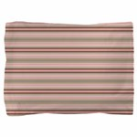 Pink and beige stripes Pillow Sham