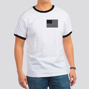 Subdued US Flag Tactical P Ringer T