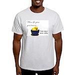 When life gives you lemons... Ash Grey T-Shirt