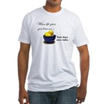 When life gives you lemons... Fitted T-Shirt