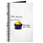 When life gives you lemons... Journal