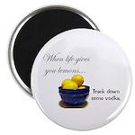 When life gives you lemons... Magnet