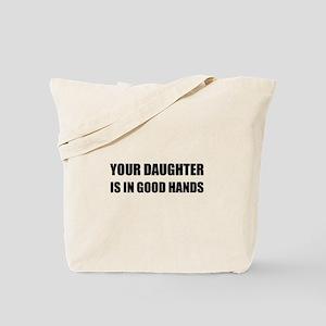 Daughter Good Hands Tote Bag