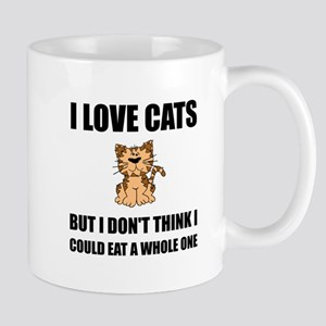 Eat A Whole Cat Mugs