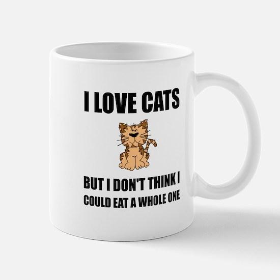 Eat A Whole Cat Mugs