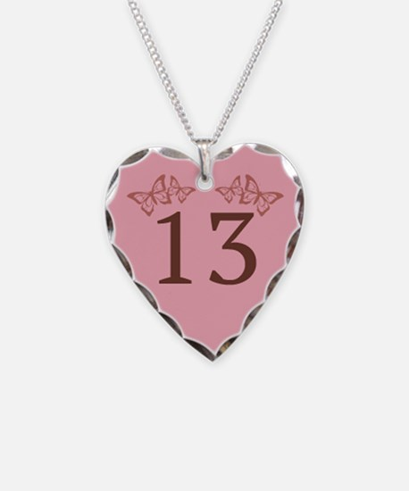 13th Birthday Anniversary Necklace