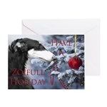 Have A Zoifull Holiday Card Greeting Cards