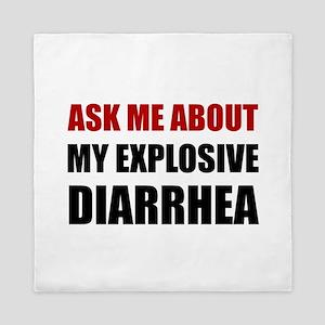 Explosive Diarrhea Queen Duvet