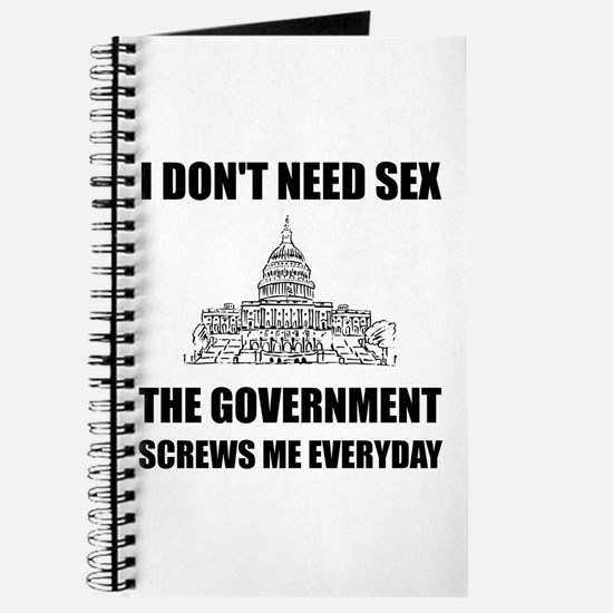 Government Screws Me Journal
