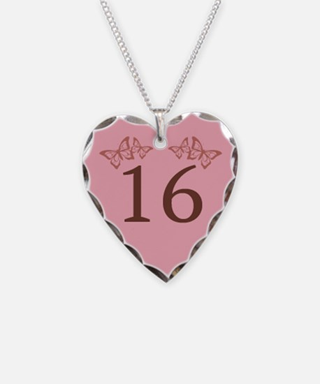 16th Birthday Anniversary Necklace