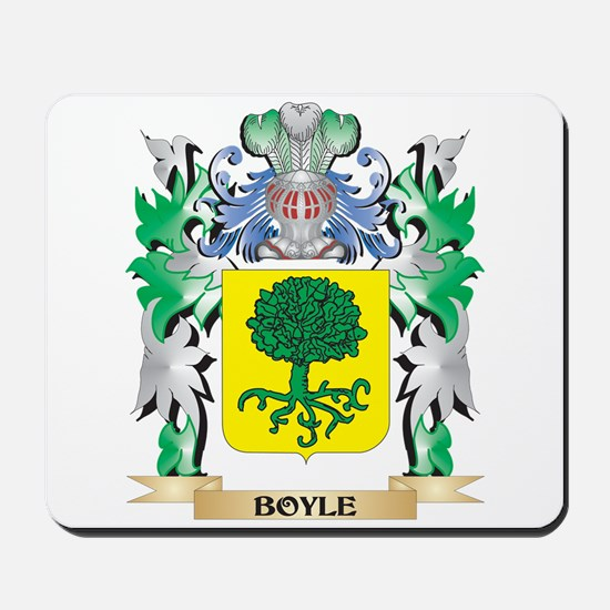 Boyle Coat of Arms - Family Crest Mousepad