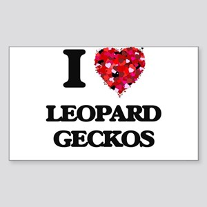 I love Leopard Geckos Sticker