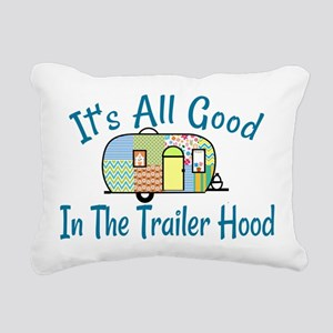 All Good In The Trailer Hood Rectangular Canvas Pi