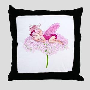 Sleeping Fae- Throw Pillow