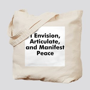 I Envision, Articulate, and M Tote Bag
