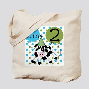 Cow 2nd Birthday Tote Bag