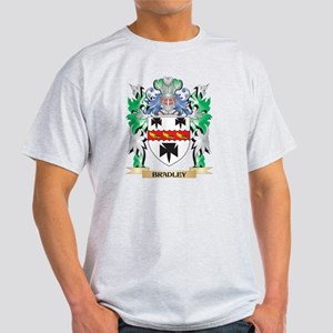Bradley Coat of Arms - Family Crest T-Shirt