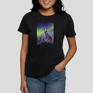 Howling Wolf 2 Women's Dark T-Shirt