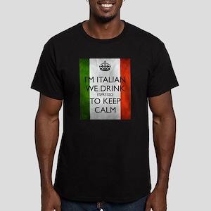 We Drink Espresso to Keep Calm T-Shirt