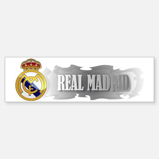 Real Madrid Elegant Sticker (Bumper)
