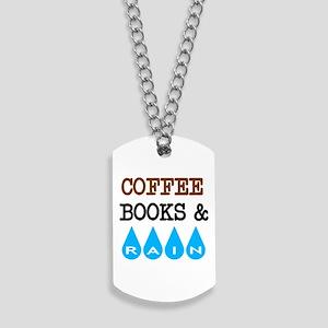 Coffee Books & Rain Dog Tags