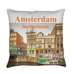 Amsterdam Everyday Pillow
