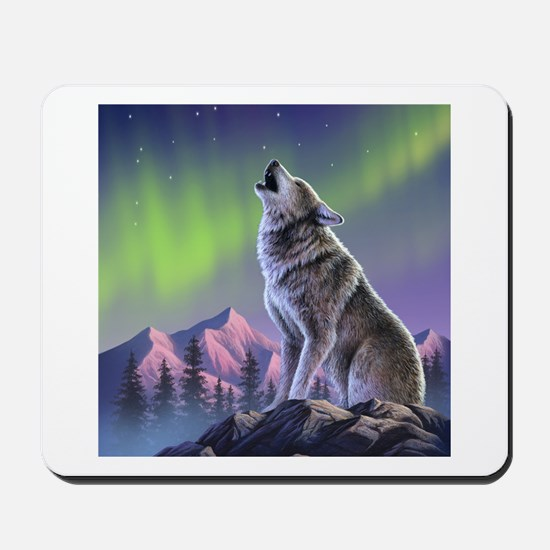 Howling Wolf 2 Mousepad