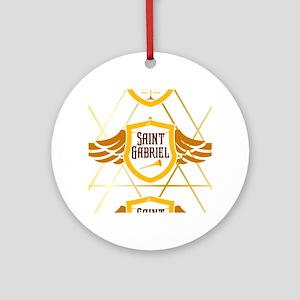 Arcangels Round Ornament