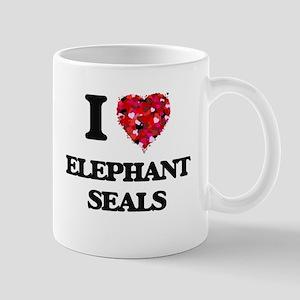 I love Elephant Seals Mugs