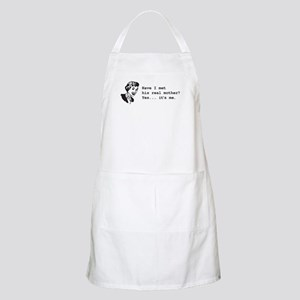 His Real Mother BBQ Apron