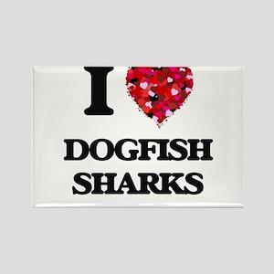 I love Dogfish Sharks Magnets