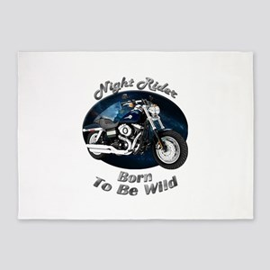 HD Fat Bob 5`x7`Area Rug