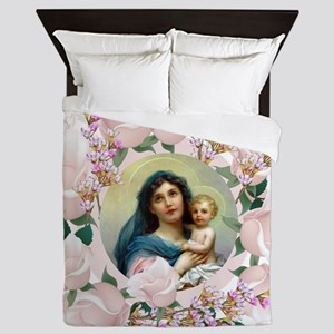 Madonna and Child Queen Duvet