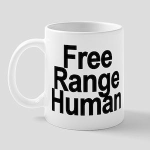Free Range Human Mug