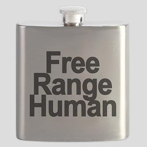 Free Range Human Flask