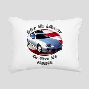 Toyota Supra Rectangular Canvas Pillow