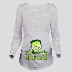 Mini Monster  Long Sleeve Maternity T-Shirt
