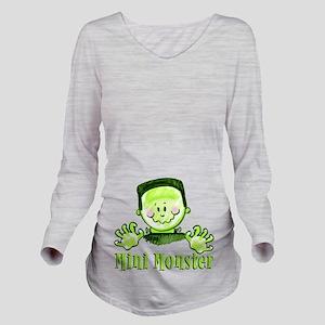 Mini Monster .png Long Sleeve Maternity T-Shirt