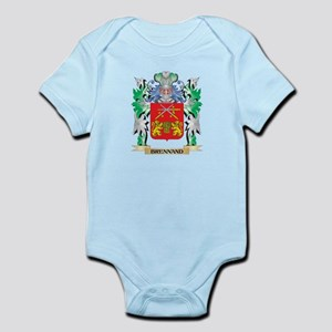 Brennand Coat of Arms - Family Crest Body Suit