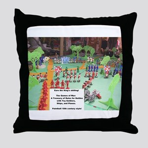 The Games of War 23 Throw Pillow