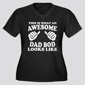 Awesome Dad Bod Plus Size T-Shirt