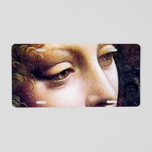 Leonardo da Vinci - Angel (detail) Aluminum Licens