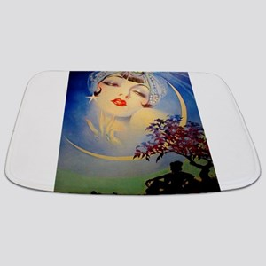 Henry Clive Woman in the Moon, Art Deco Bathmat