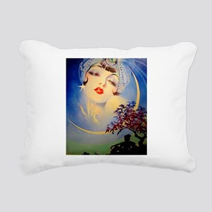 Henry Clive Woman in the Moon, Art Deco Rectangula
