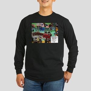 The Games of War 24 Long Sleeve Dark T-Shirt