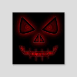 Evil Halloween Face Sticker