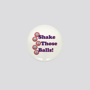 Bingo Shake Mini Button